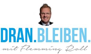DRAN.BLEIBEN. mit Flemming Roll